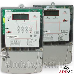 Электросчетчик ADDAX IMS NP-07 3FT.3UG-U 5-10А 3*230/400В, А±R±, GPRS-модуль, реле, трехфазный многотарифный