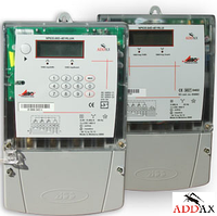 Электросчетчик ADDAX IMS NP-07 3FD.3UG-U 5-100А 3*230/400В, А±R±, GPRS-модуль, реле, трехфазный многотарифный