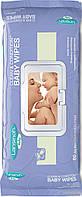 Влажные салфетки для малышей на грудном вскармливании Lansinoh 80 шт (20540)