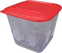 """Пищевой контейнер пластиковый (судок) 1,5 литра """"ПолимерАгро""""  + Видео"""