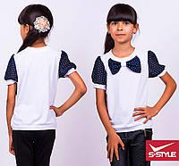 Супер легкая и красивая трикотажная блузка