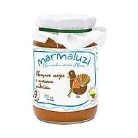 Пюре Marmaluzi из индейки с овощами, 190 г
