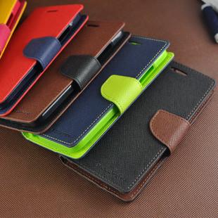 Оригинальный чехол книжка флип панель накладка GOOSPERY MERCURY TPU для телефона SONY XPERIA Z1 Compact D5503
