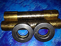 Палец /шкворень/ поворотного кулака со втулкой и подшипниками ЗИЛ-130, ЛАЗ, ПАЗ, 130-3001019