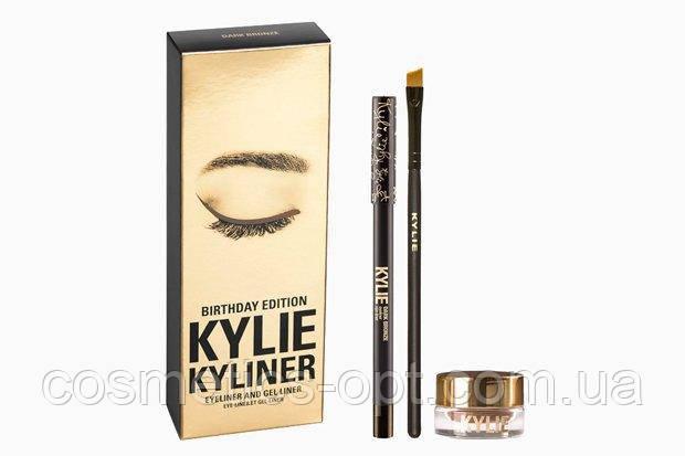Гелевая подводка для глаз Kylie Kyliner Dark Bronze (реплика)