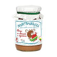 Пюре овощное Marmaluzi с говяжьим языком, 190 г