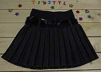 Школьная юбка  в складку  на рост 128-158 см
