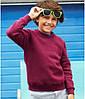 Детский реглан однотонный бордовый 039-41, фото 4