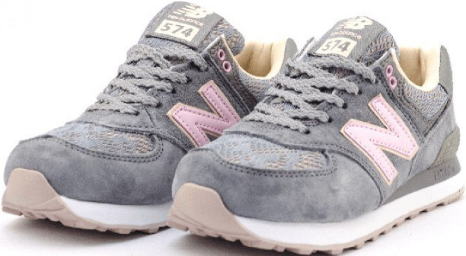 ac36641e Кроссовки нью баланс женские? New Balance WL574NLD Grеy/Lace. -  Интернет-магазин