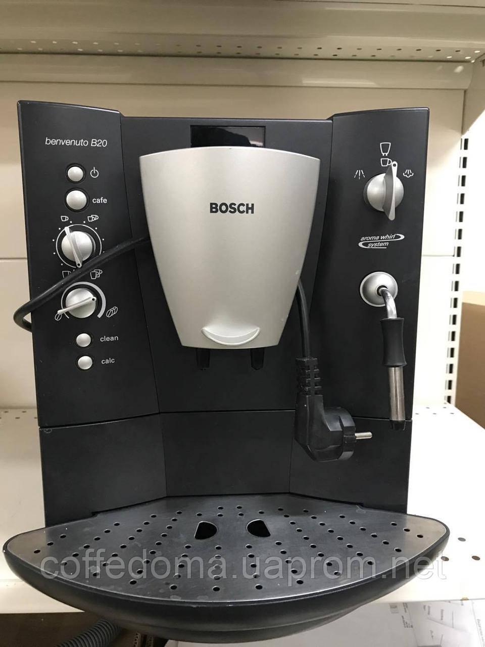 Bosch Benvenuto b20 автоматическая кофемашина