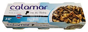Кальмары в собственном соку (чернилах) Calamar Hacendado, 240 гр.