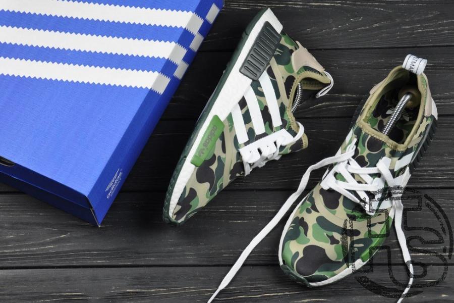 size 40 81875 e256b Мужские кроссовки Adidas NMD R1 x Bape Camo BA7326 - Bigl.ua