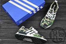 Мужские кроссовки Adidas NMD R1 x Bape Camo BA7326, фото 3