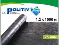 Плёнка мульчирующая Politiv (1.2x1000м) чёрная