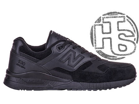 Женские кроссовки New Balance 530 90s Running Black M530BAA, фото 2