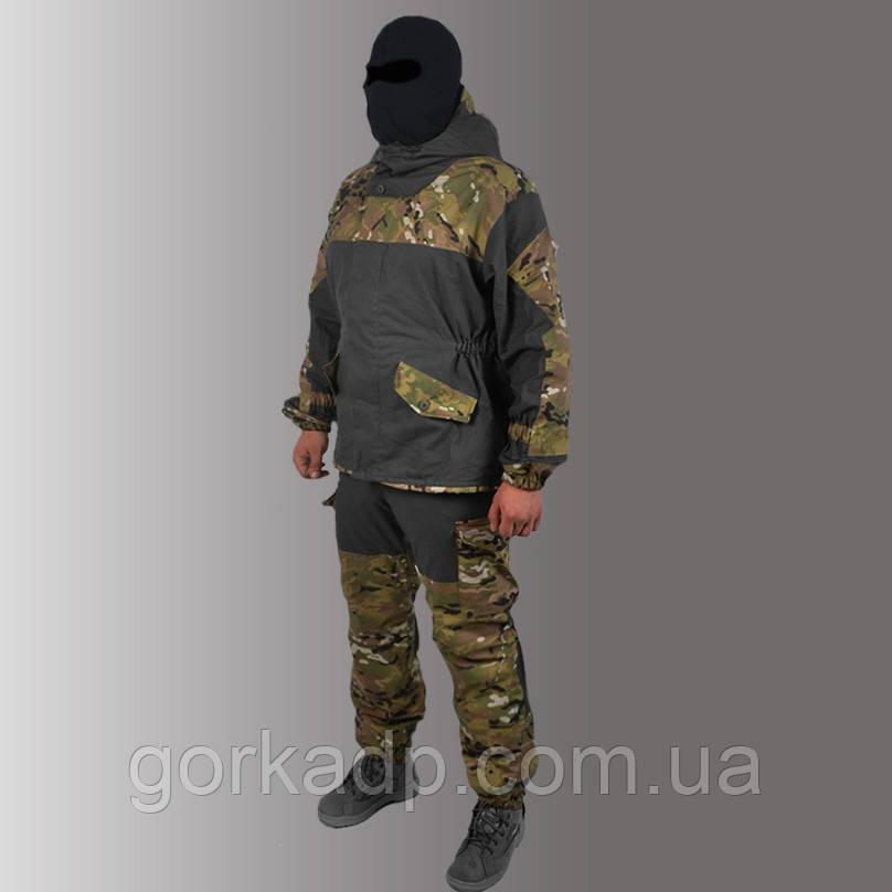 Костюм Горка 3 черная multicam