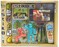 Игровой набор для анимационного творчества Stikbot S2 Pets – Студия, 2 эксклюзивных фигурки, штатив