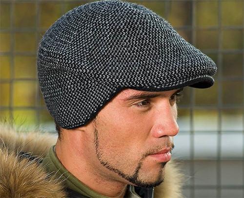 Мужские кожаные кепки и кепки из овчины для тех, кто ценит стиль и практичность