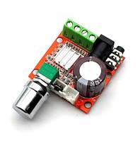 Аудиоусилитель PAM8610 2x15W с регулятором громкости
