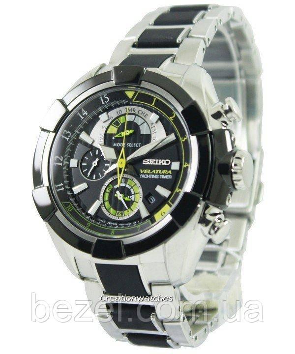 Мужские часы Seiko SPC147P1 Velatura Chronograph Yachting Timer