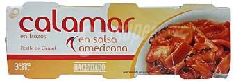 Кальмари в пікантному соусі Calamar Hacendado En salsa americana, 240 гр.