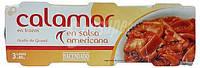 Кальмары в пикантном соусе Calamar Hacendado En salsa americana, 240 гр., фото 1