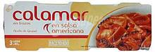 Кальмары в пикантном соусе Calamar Hacendado En salsa americana, 240 гр.