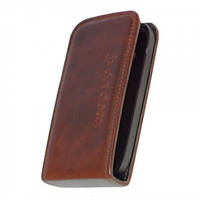 Чехол-флип KeepUp Flip case для Samsung Galaxy S IV i9500 Brown