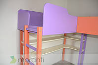 Детская двухъярусная с игровой зоной и местом для дивана