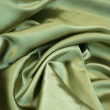 Атлас оливковый, ткань № 45, 46, фото 2