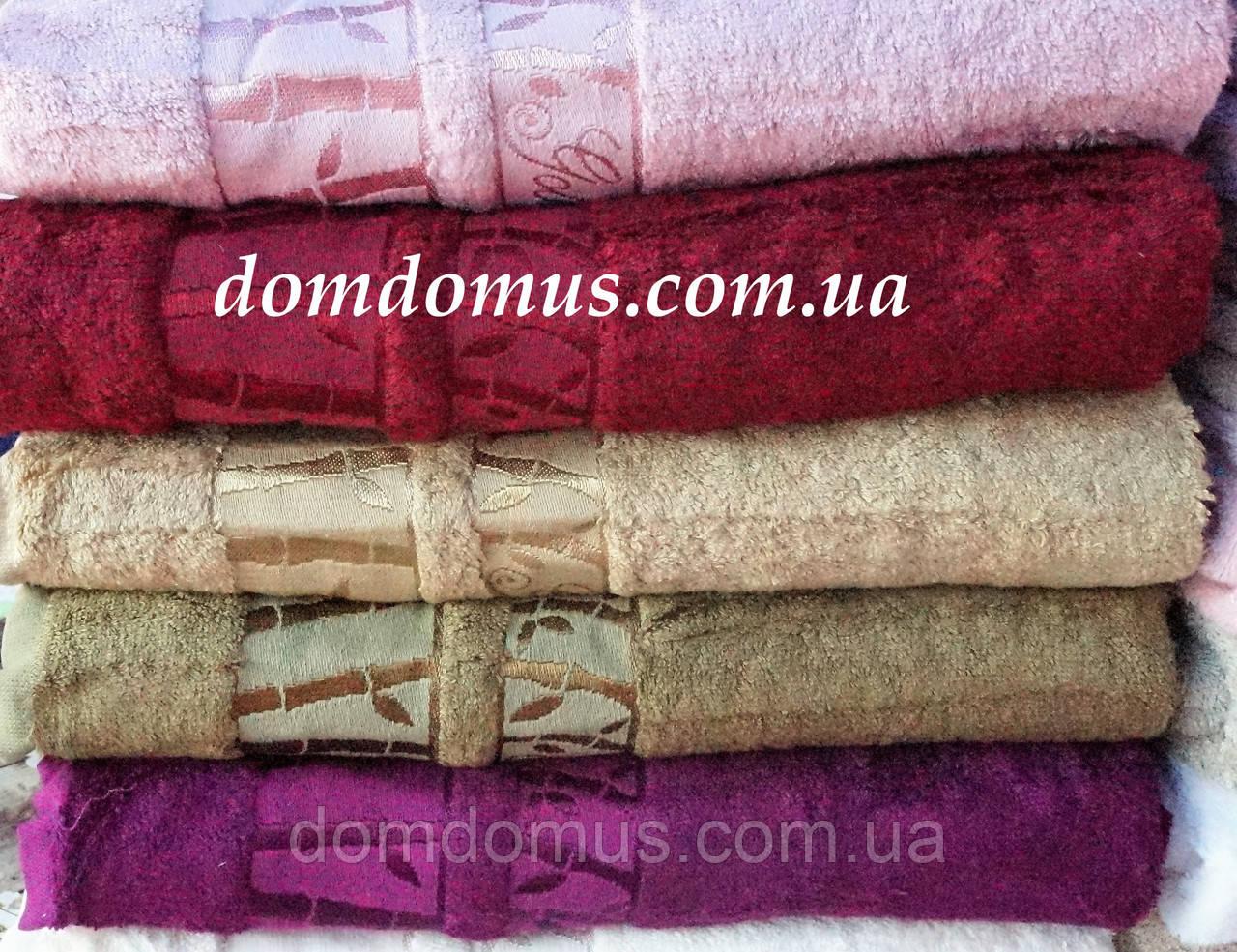 "Махровое полотенце ""Vip Bambo-Gold""  90*150 ( 100% бамбук) 6 шт.уп. сауна, Puppila, Турция 5031"