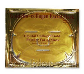 Коллагеновая маска для лица с коллоидным золотом