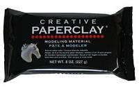 Паперклей Paperclay 113 г самозатвердевающий материал для лепки (Япония)