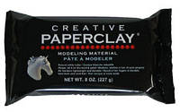 Паперклей Paperclay 454 г - профессиональная масса для лепки (Япония)