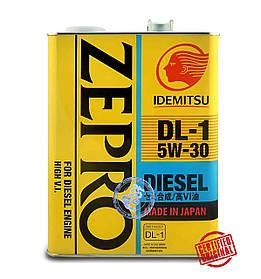Масло моторное IDEMITSU ZEPRO DIESEL 5W-30 4л.