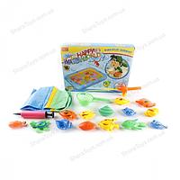 Игровой набор рыбалки с надувным бассейном