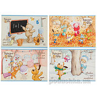 Альбом для рисования Popcorn Bear 12 листов Kite PO17-241