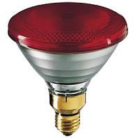 Инфракрасная лампа PAR38 230V 175W E27 Helios (Польша) для обогрева животных, птиц