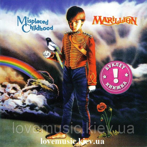 Музичний сд диск MARILLION Misplaced childhood (1985) (audio cd)