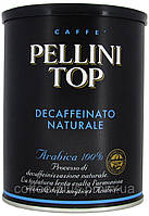 Кофе молотый Pellini Top Decaffeinato 250 г в банке