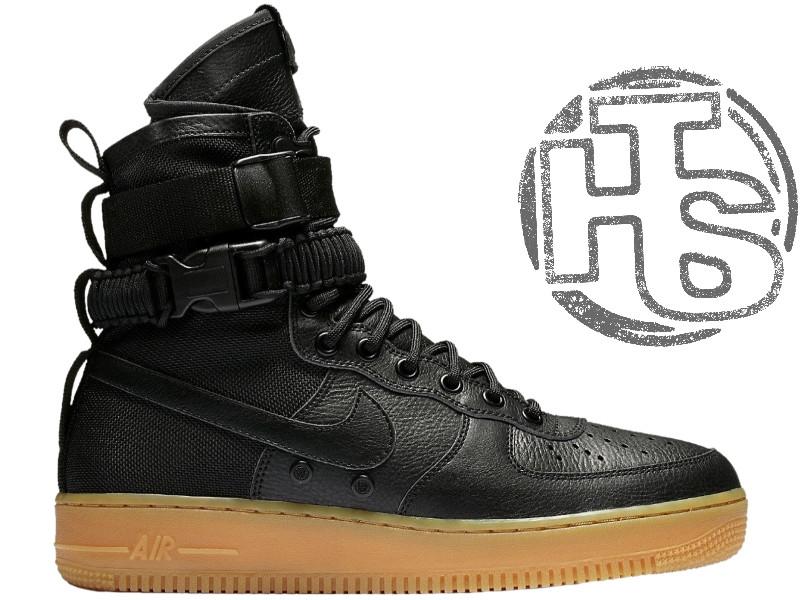 Чоловічі кросівки Nike Special Air Force Field 1 Black 859202-009