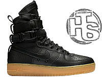Мужские кроссовки Nike Special Field Air Force 1 Black 859202-009