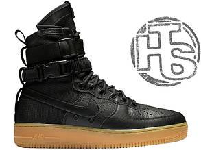 Мужские кроссовки Nike Special Field Air Force 1 Black 859202-009