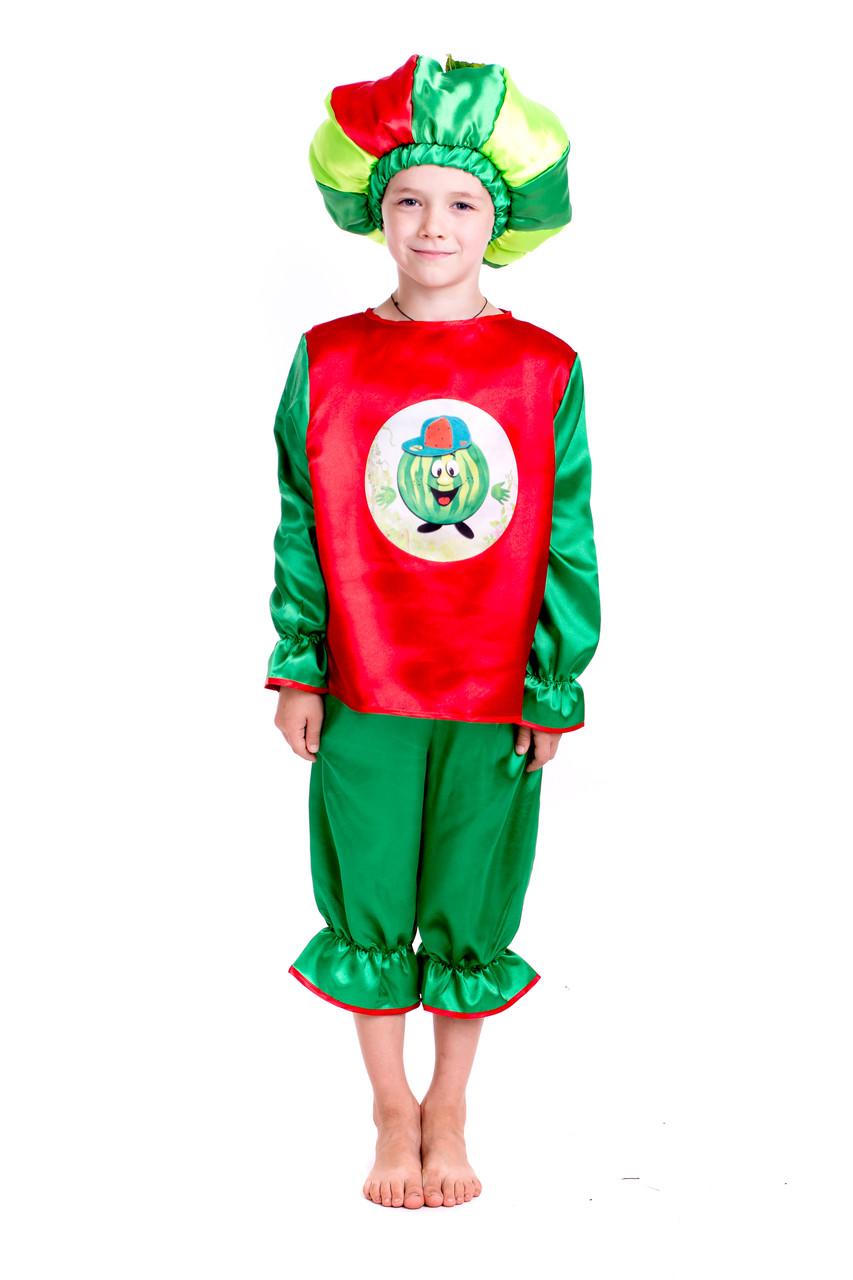 Детский карнавальный костюм арбуза