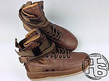 Мужские кроссовки Nike Special Field Air Force 1 Golden Beige 857872-200, фото 3