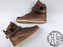 Мужские кроссовки Nike Special Field Air Force 1 Golden Beige 857872-200, фото 2