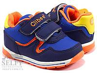 Кроссовки детские Clibee F655mix3k blue orange 19-24