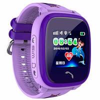 UWatch Детские часы Smart GPS DF200 Water Purple