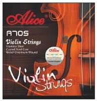 Alice A705 Violin Струны для скрипки сталь/хром