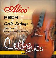 Alice A804 Струны для виолончели сталь/алюминий